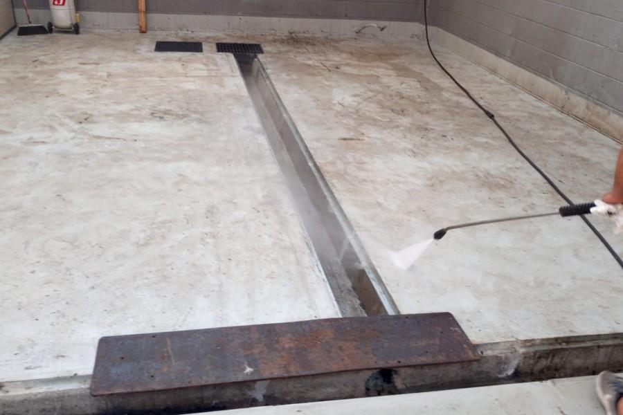 pavimento di lavaggio