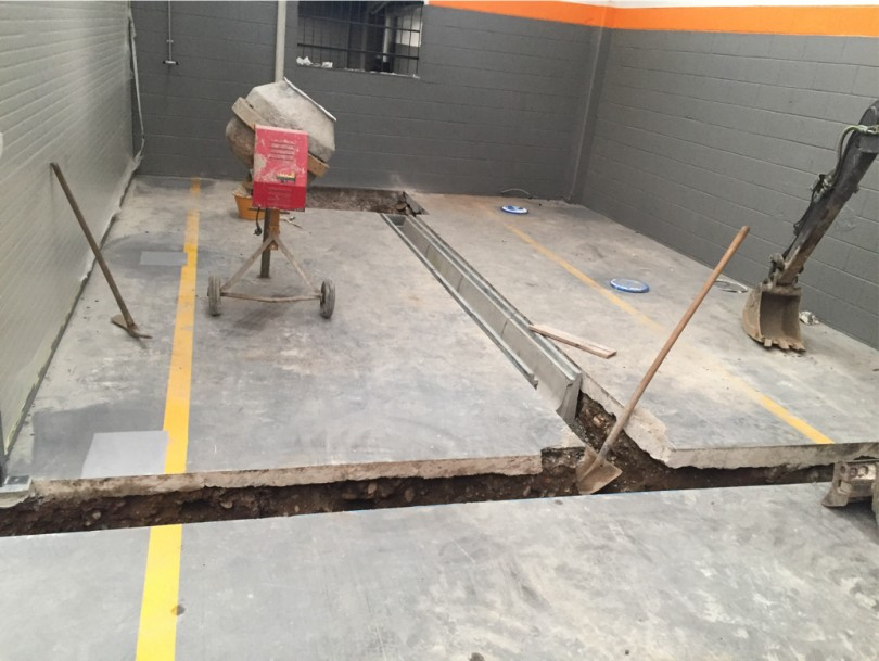 scavi per pavimento